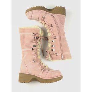 Report Icon Platform Snow Boots